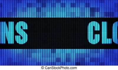 Cloud Solutions Front Text Scrolling LED Wall Pannel Display...
