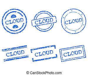 Cloud stamp