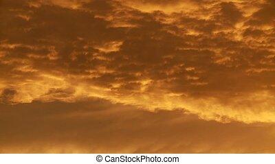 Cloud Timelapse, Sunset