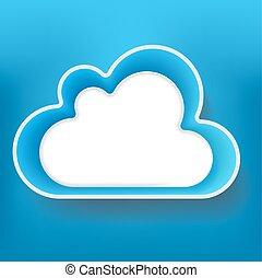 Cloud, vector