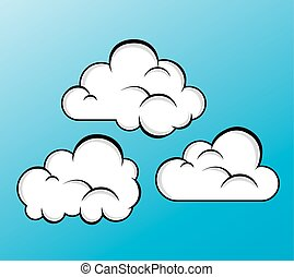 Cloud Weather design, vector illustration eps 10.
