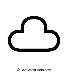 Cloud Web Icon - msidiqf