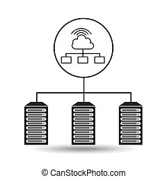 cloud wifi data center connection