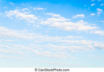 Cloud with sky background