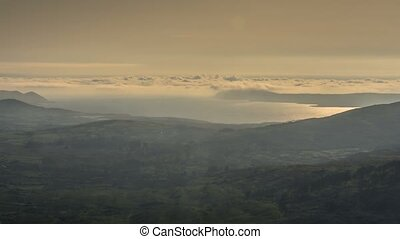 cloudcover, an, sonnenuntergang, in, kork, irland