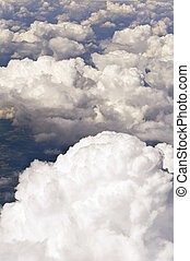Clouds - Aerial image of clouds