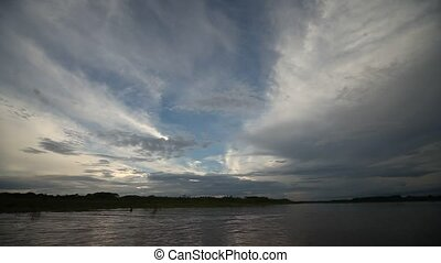 Clouds, Amazon, Peru
