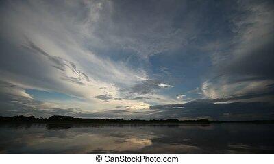 Clouds, Amazon, Peru