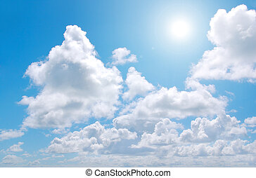 Clouds and Sun