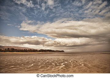 Clouds at Low Tide