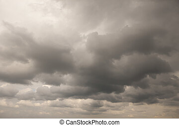 Clouds background - Stormy clouds background