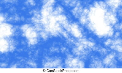 clouds blue sky abstract