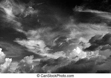Clouds b&w III