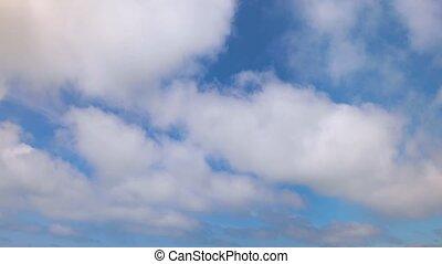 Clouds Flying By Loop