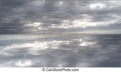 Clouds from all angles. Time Lapse