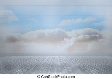 Clouds in a room