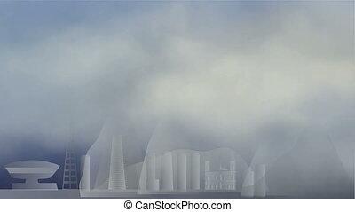 clouds in Rio de Janeiro - Animated cartoon - clouds in Rio...