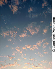 Clouds in the morning sunlight 5