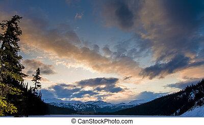 Clouds in the Sky at Sunrise