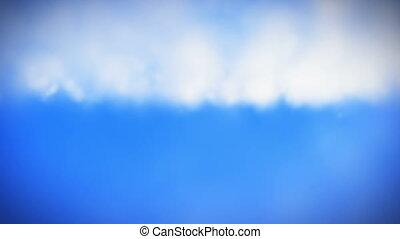 Clouds on a sky