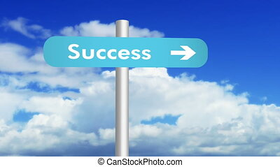 Clouds on the route of Success