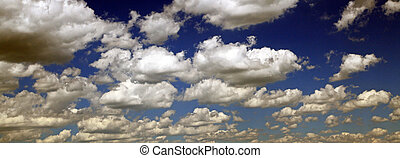 Clouds on the sky