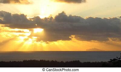 Clouds over Bora Bora
