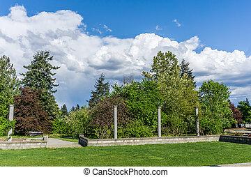 Clouds Over Garden 3