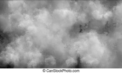clouds smoke abstract
