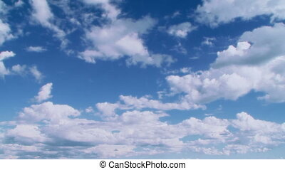 Clouds - The clouds soaring in the sky.