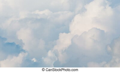 Clouds. Time Lapse - Beautiful Clouds. Time Lapse.