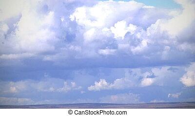 Clouds timelapse - sky clouds