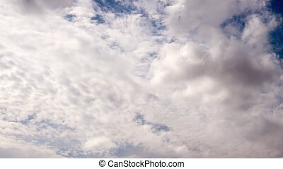 Clouds Timelapse Puffy fluffy - Clouds Timelapse. Puffy...