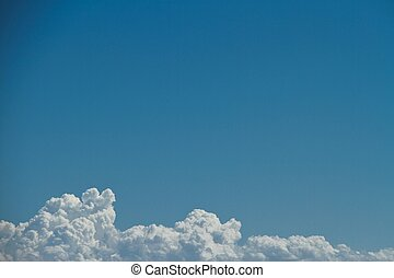 Clouds with Copy Space