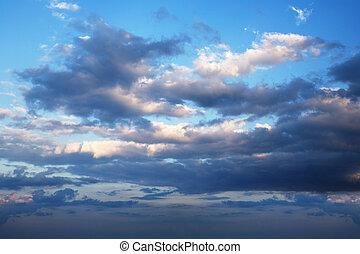 cloudscape , δραματικός