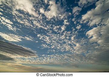 cloudscape , πάνω , utah , εγκαταλείπω , ανατολή