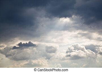 Cloudscape - High resolution image of cloudy sky. Great ...