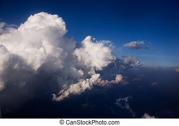 Cloudscape - A dramatic cloudscape from the sky