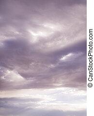 cloudscape , southwestern