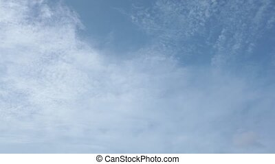 Cloudscape Time Lapse Summer Skies HD - Deep blue skies high...