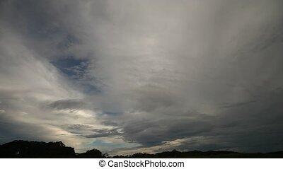 Cloudy Amazon, Peru