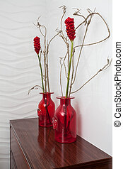 Cloudy home - Bathroom decoration - Cloudy home - Red...