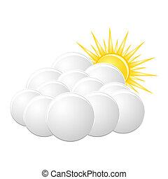 """""""cloudy"""", icono"""