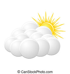 """cloudy"", ikona"