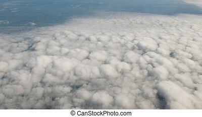cloudy in the sky