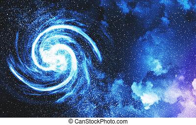 Cloudy night sky wallpaper