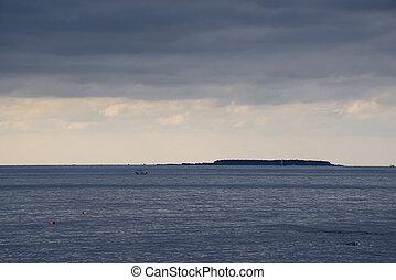seascape of Jeju Island