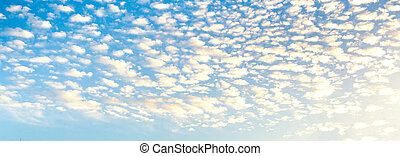 Cloudy sky abstract background. Smooth gradient background light blue color