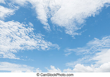 cloudy sky and blue clear sky clouds bird shape background
