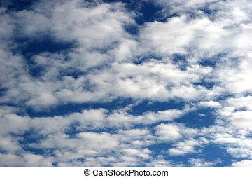 cloudy sky - cloudy blue sky